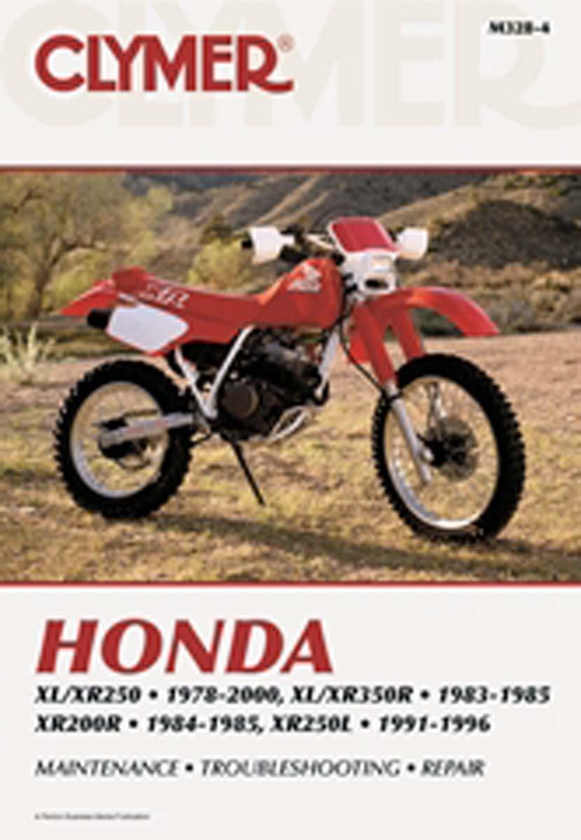 Amazon.com: ATV/Moto-X Honda Clymer Manual Models XL/XR 250-350 1978-1995,  KR200R 1984-1985 WSM M328-4: Automotive