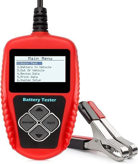 Autool bt-360/Battery System Tester DC 12/V Veicolo analizzatore di Batteria Tester di Sistema di Ricarica da Auto