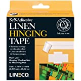 Linen Self Adhesive Hinging Tape 1.25inx150ft