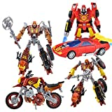 "Buy ""TRANSFORMERS PLATINUM EDITION HOT ROD JUNKION SCRAPHEAP WRECK GAR SET"" on AMAZON"