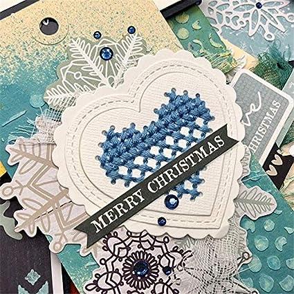 Lace Frame Scrapbooking Card Making DIY Metal Cutting Dies Craft Gift Stencils