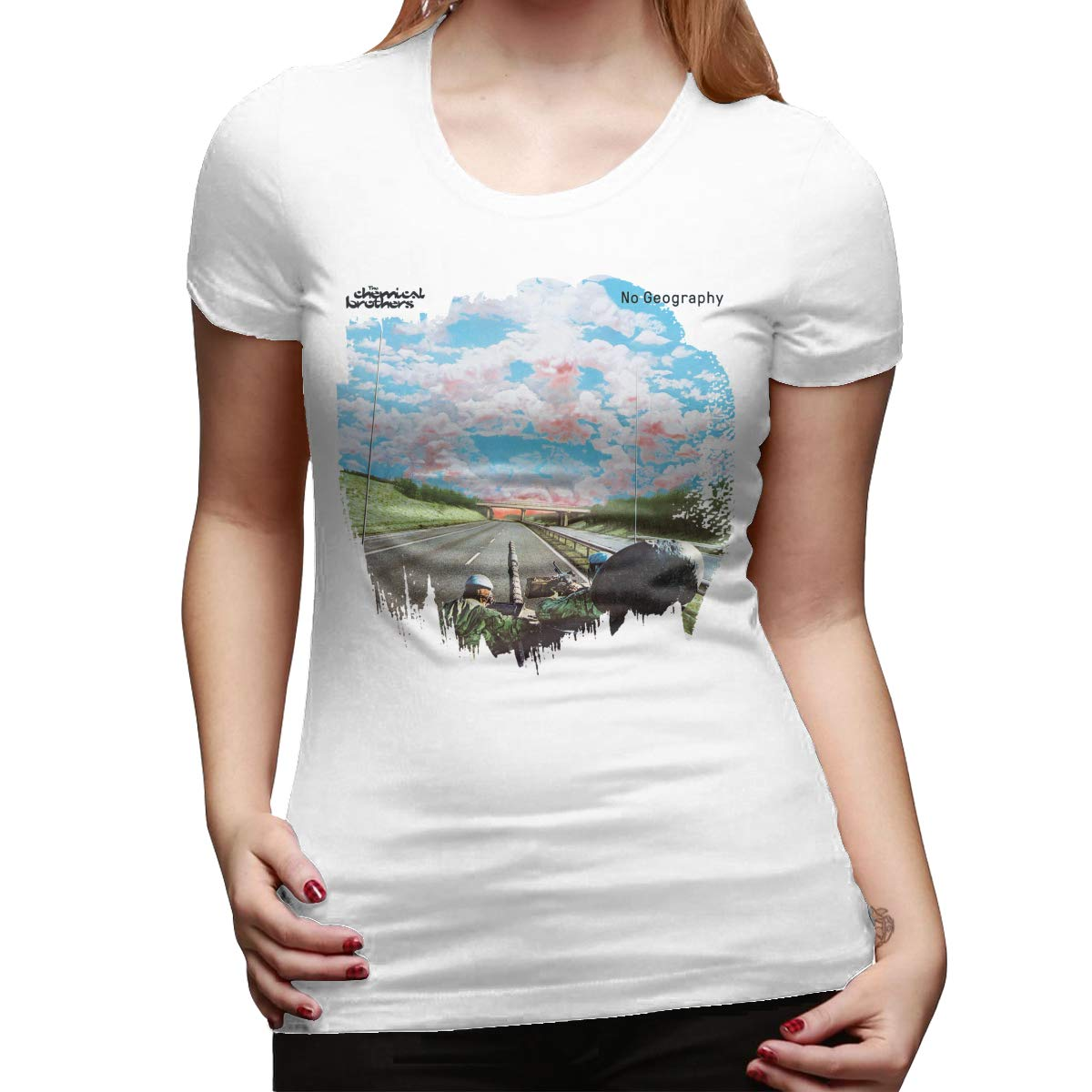 T-shirts For No Geography The Chemical Brothers Style Short Sleeve Tee
