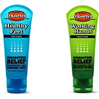 O'Keeffe's Working Hands & Healthy Feet Combination Pack of Tubes