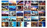 New Collectible Edition! United States travel and American theme postcards. 30 Various NYC New York Postcards 4x6 Inch