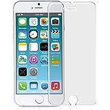 kwmobile Pellicola Protettiva in Vetro Temperato OPACA e ANTIRIFLESSO con effetto anti-impronte per Apple iPhone 6 / 6S / 7 (più piccolo di questo display, poichè questo è ricurvo)