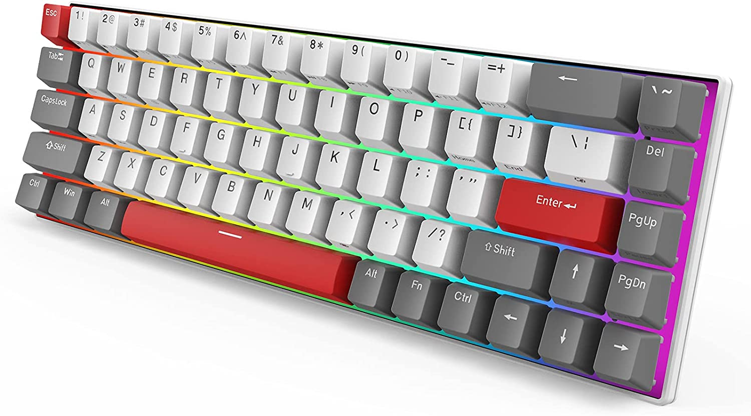 Royal Kludge G68 Classical Red 65% Mechanical Keyboard