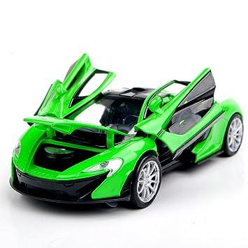 Amazon.com: Amarillo/Verde Coleccionable modelos de coches 1 ...