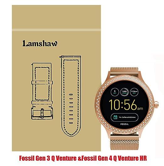 Amazon Com Lamshaw Smartwatch Band Fossil Q Venture Fossil Gen 4 Q