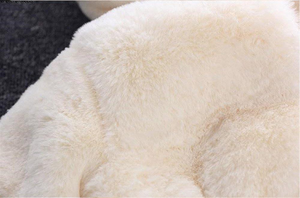 FeiliandaJJ Baby Mantel M/ädchen Coat Jacken Herbst Winter Kapuzenmantel Einfarbig Verdicken Hasenohren Rei/ßverschluss Strickjacke Kleidung S/äuglings Kinder Warm Outwear