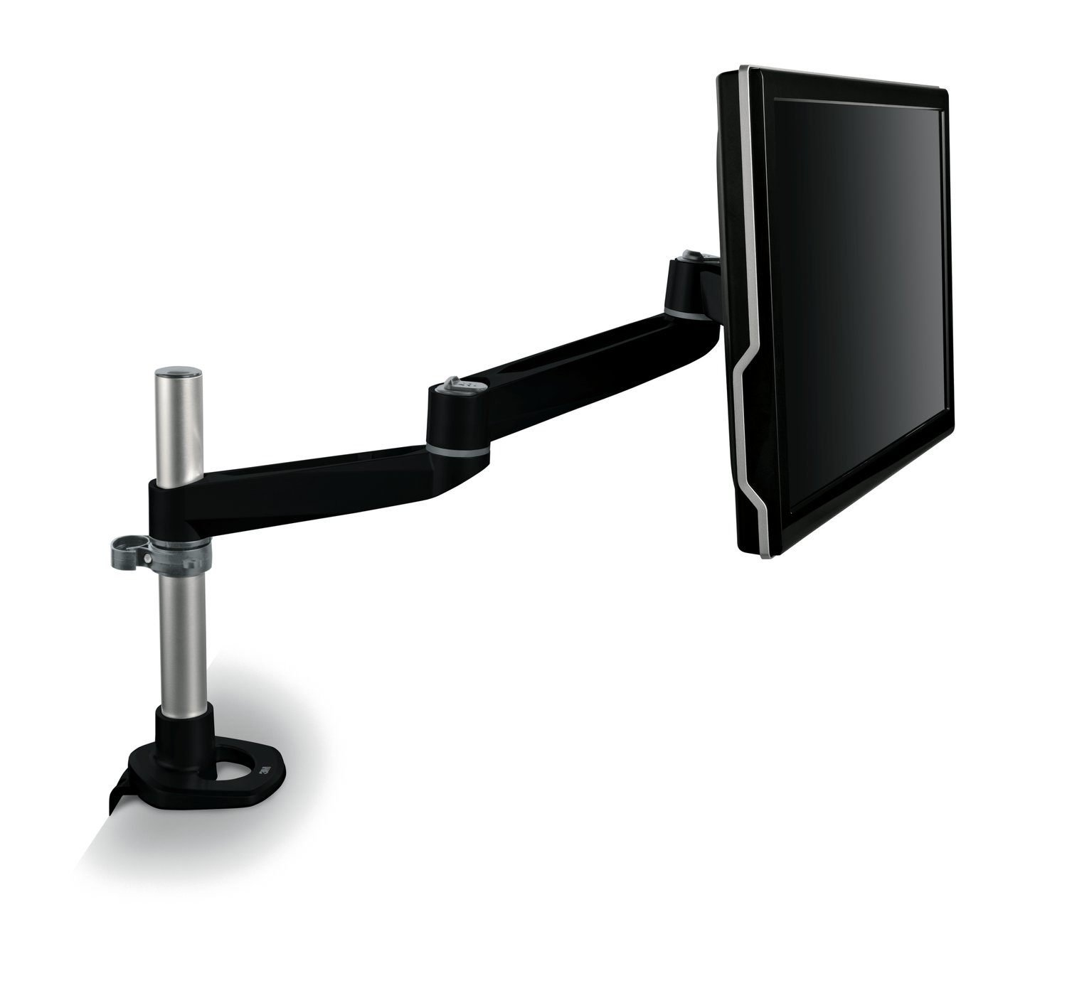 3M Ergonomic Adjustable Dual-Swivel Monitor Arm, (MA140MB) 3m - Supplies Monitor Accessories