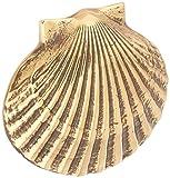 Bay Scallop Doorbell Ringer - Brass