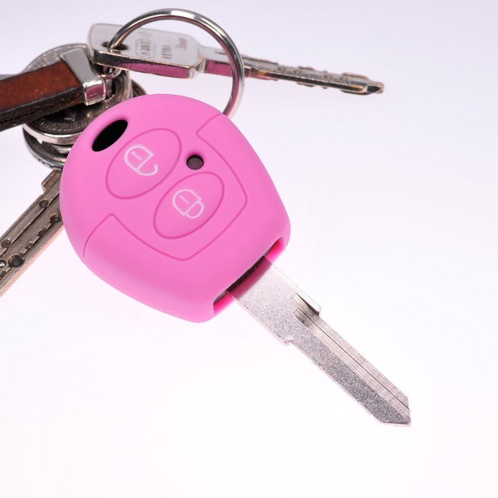 cord/ón Rosa para VW Seat Skoda T4 Fox Sharan Polo C/órdoba Soft Case Funda Protectora para Coche