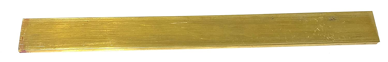 1 bar Brass Flat Bar Stock 3//16 x 1 1//4 x 36 C360 Buss