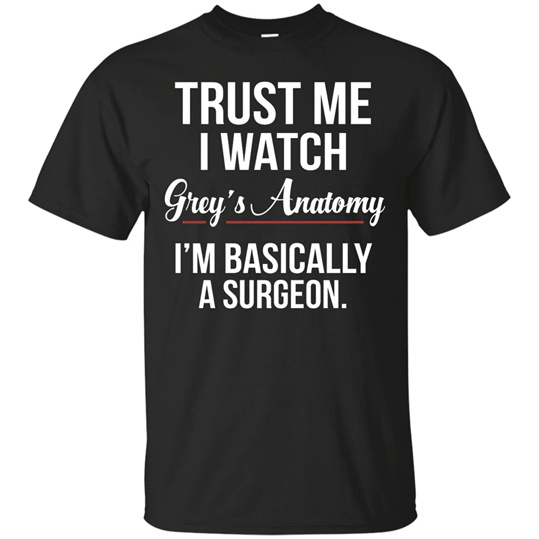 Amazon.com: AnneLano Women\'s Grey\'s Anatomy T Shirts XX-Large Black ...