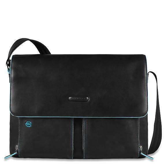 5 opinioni per Piquadro Blue Square borsa a tracolla pelle 37 cm compartimenti portatile