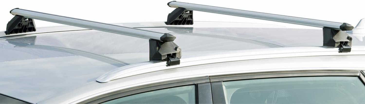 VDP Orion 3X Bicycle Carrier 4L Roof Rack Rails CRV107A Compatible with Audi Q7 5 Door 2006-2015