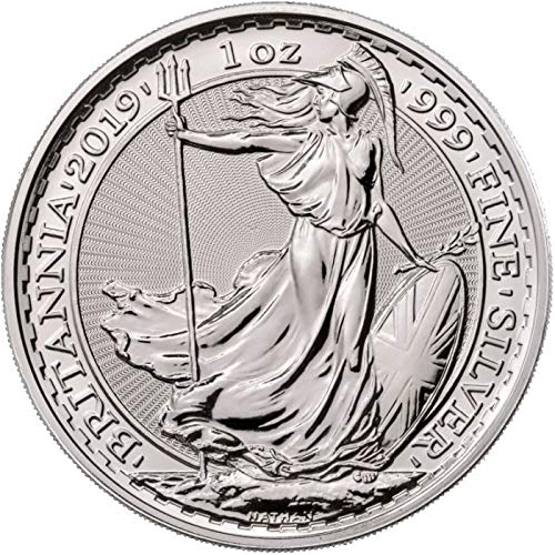 annia 1 Troy Oz Silver Bullion £2 Pounds Brilliant Uncirculated ()