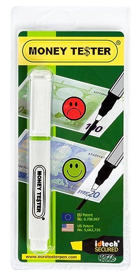 MONEY TESTER® XL - Detector de Billetes Falsos (Fórmula Patentada) Funciona con Todas