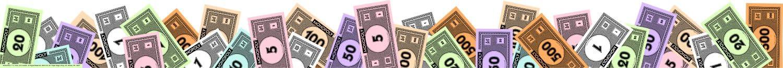 Eureka Classroom Deco Trim Extra Wide Die Cut Monopoly Money