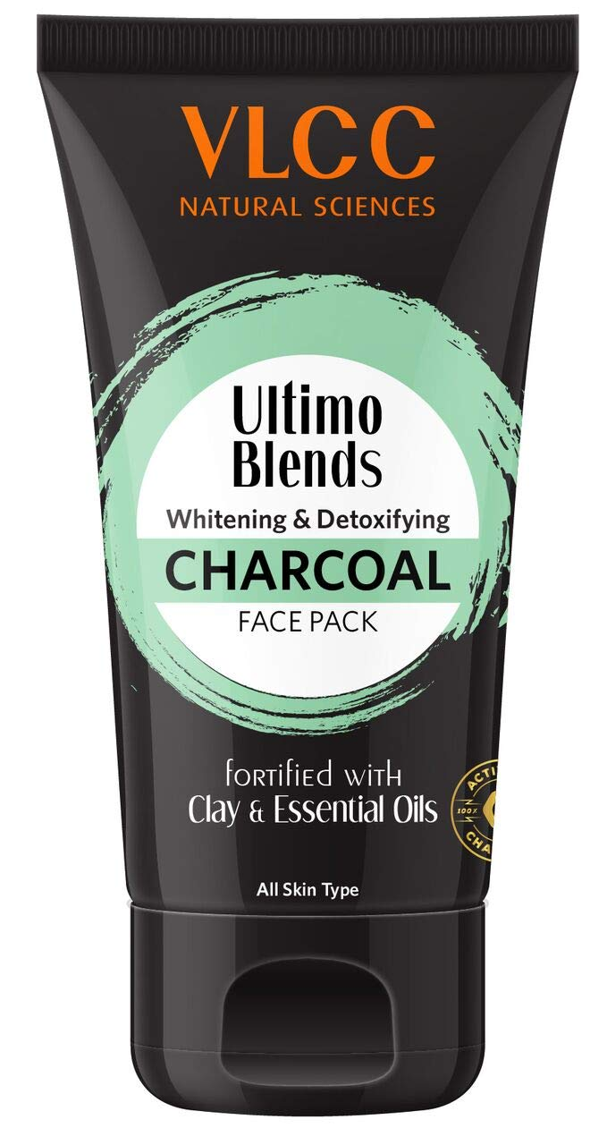 VLCC Ultimo Blends Charcoal Face Pack, 100g