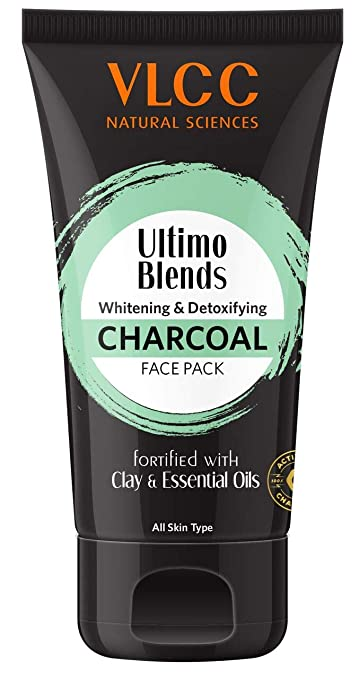 VLCC Ultimo Blends Charcoal Face Pack, 100g: Amazon.in: Beauty