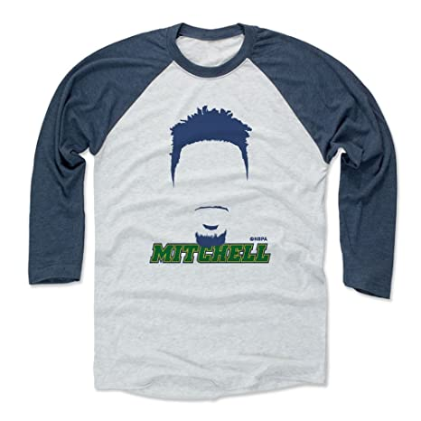 best website cab8d a73e3 Amazon.com : 500 LEVEL Donovan Mitchell Baseball Tee Shirt ...