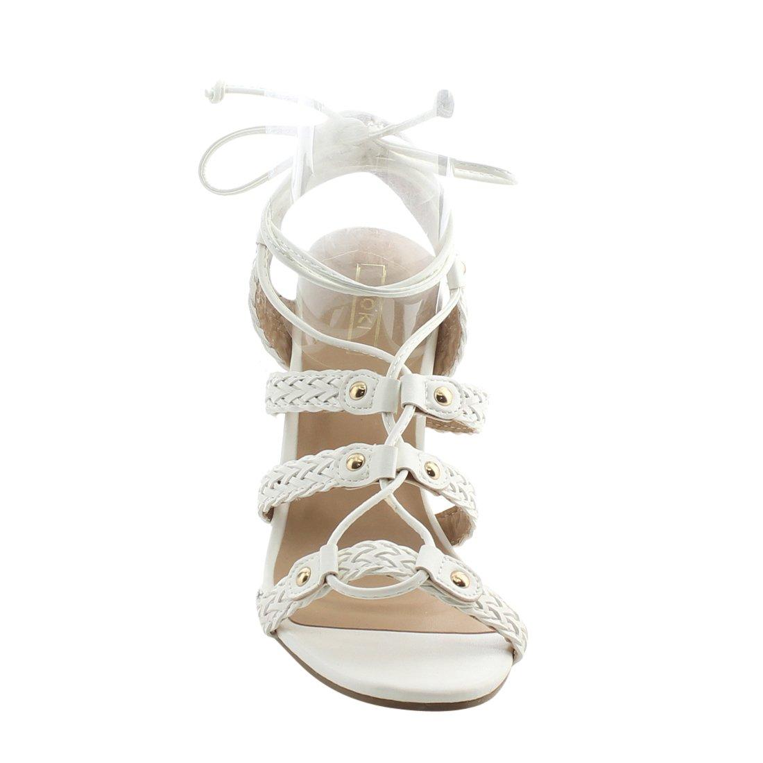 Yoki Women's Donya-218 Platform B071XXZD3R 7 B(M) US|White