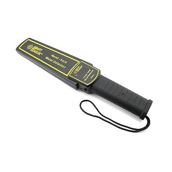Jusheng Detector de metales de mano Detector de metales de alta sensibilidad Scanner Hunter Tool Sensor inteligente de vibración AR954: Amazon.es: ...
