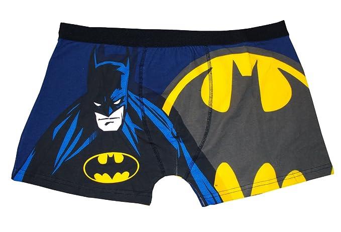 Oficial de Batman de señal de hombre Boxer pantalones cortos Gris negro