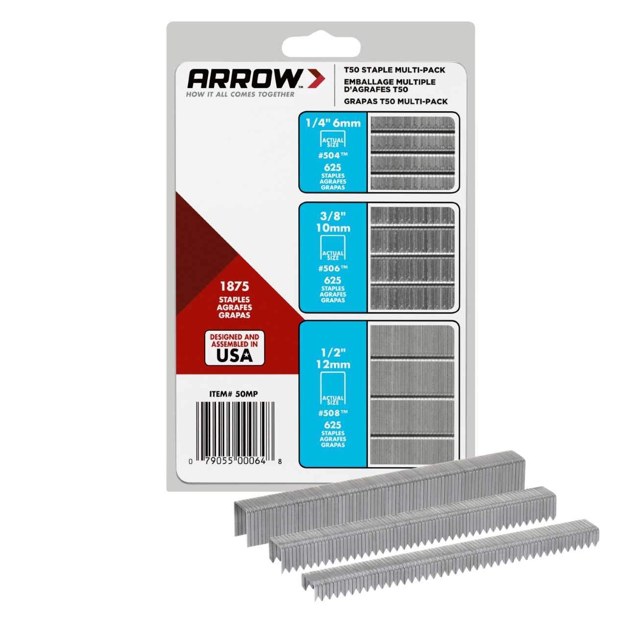 ARROW T50 Staples 50MP, 3-Pack by ARROW (Image #6)