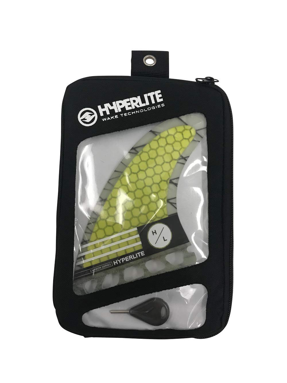 Amazon.com : Hyperlite 2019 Carbon Surf Fin Set with Key 4.5 : Sports & Outdoors