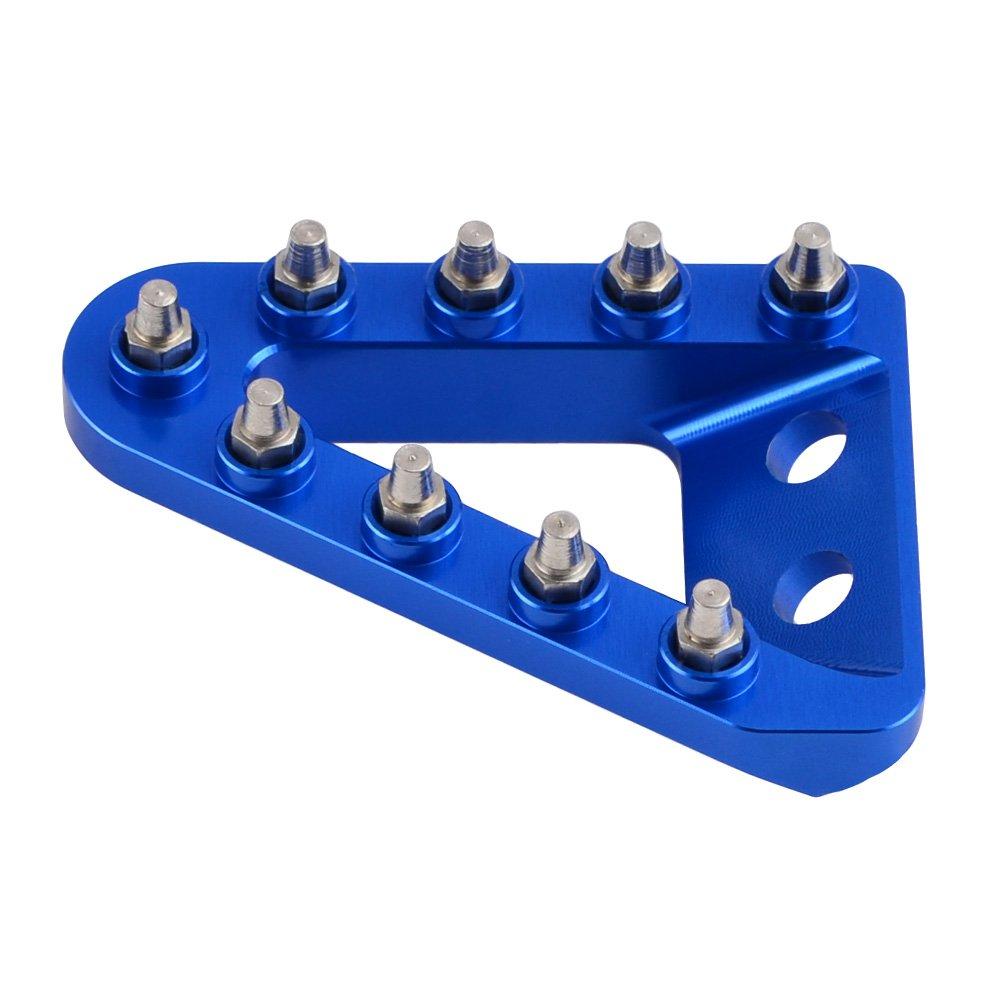 NICECNC Rear Brake Pedal Step Plate Tip for HUSQVARNA FE 250//350 TC 85//125//250 FC 250//350//450 TE 250//300 2014-2015,TE 125 2015,FE 350S//450 2015 FE501S 2015-2016 501 2014-2016