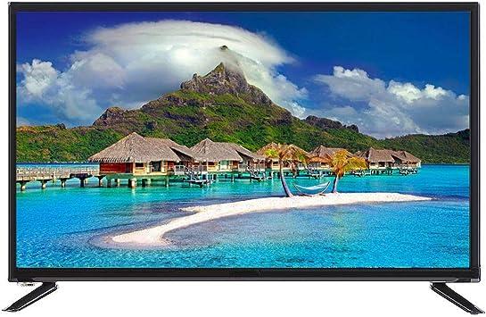 ASHATA 43 Pulgadas 4K HDTelevisor LCD de Pantalla Grande 1920 * 1080 Smart TV Soporte Network Cable + WiFi Inalámbrico con 2 Puertos USB +3 Puerto HDMI(UE): Amazon.es: Electrónica