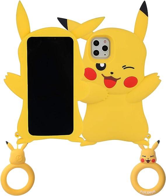 Cute Cartoon Pikachu Pokemon Soft Case