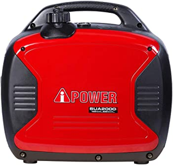 A-iPower Ultra-Quiet 2000 Watt Gasoline Inverter Generator