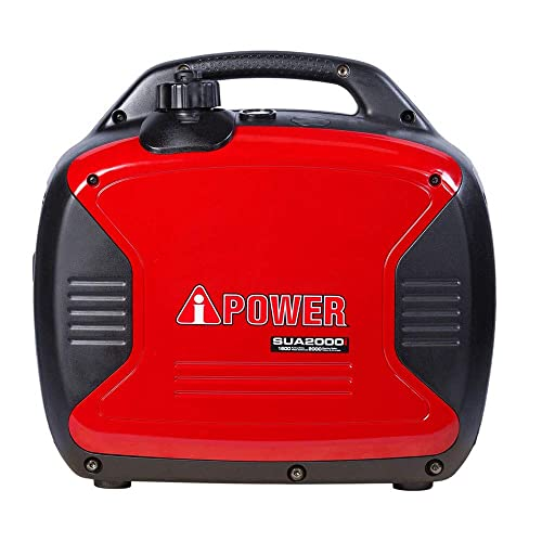 A-iPower SUA2000i 2000-Watt Portable Inverter Generator Gasoline-Powered