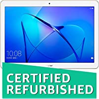 (CERTIFIED REFURBISHED) Honor MediaPad T3 Kobe-L09AHN Tablet (8 inch, 16GB, Wi-Fi + 4G LTE, Voice Calling), Luxurious Gold