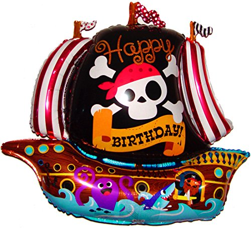 Pirate Ship Bounce House - PIRATE SHIP BIRTHDAY 36