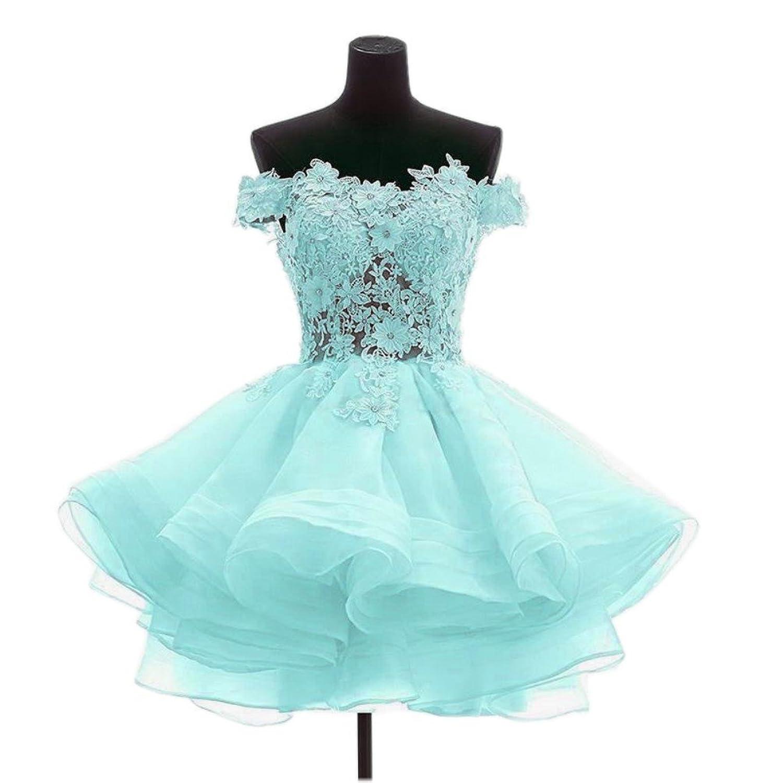 CCBubble 8th Grade Prom Dresses 2017 Lace Homecoming Graduation Dresses