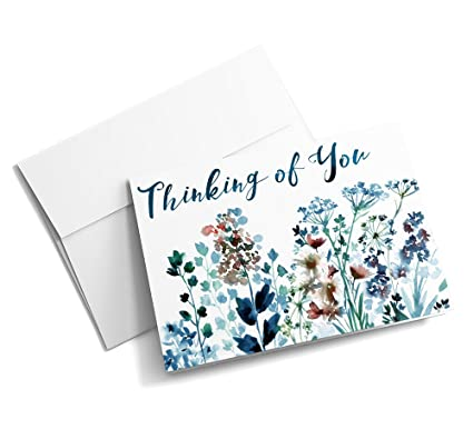 Amazon sympathy blooms thinking of you cards 25 signature sympathy blooms thinking of you cards 25 signature greeting cards with your custom message m4hsunfo