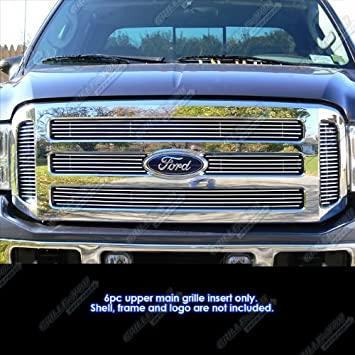 Aluminum Billet Grille For 05-07 Ford F250//F350//F450// F550