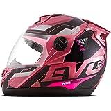 Capacete Evolution G8 Evo Brilhante Pro Tork Tam.62 Pink