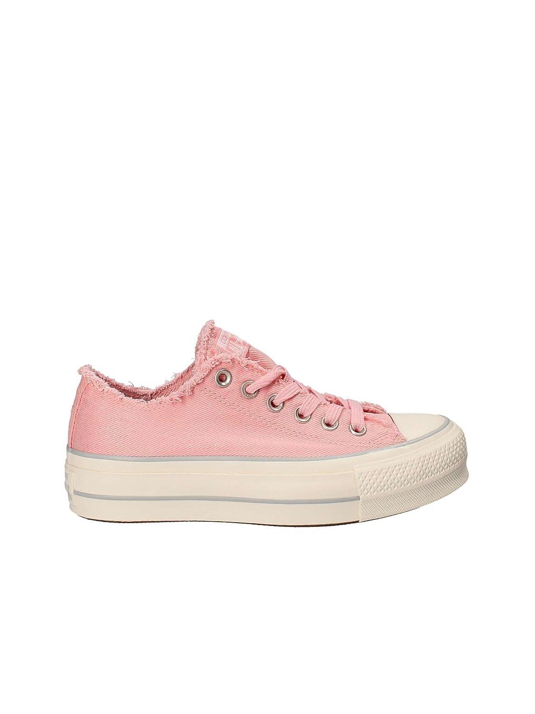 Rose Rose Converse 560948C Chaussures de Tennis Femme