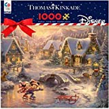 Ceaco 1000 piece puzzle - Mickie and Minnie Sweetheart Holiday