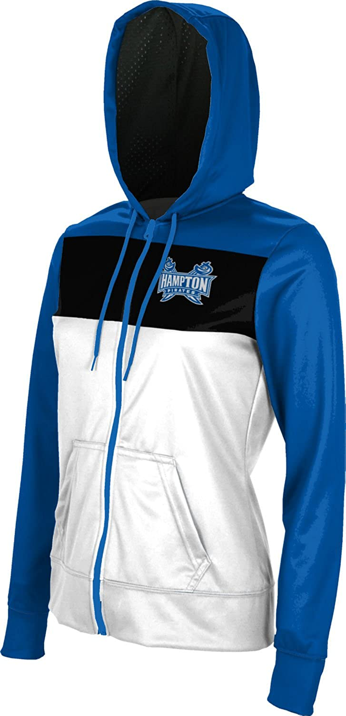 Prime School Spirit Sweatshirt Hampton University Girls Zipper Hoodie