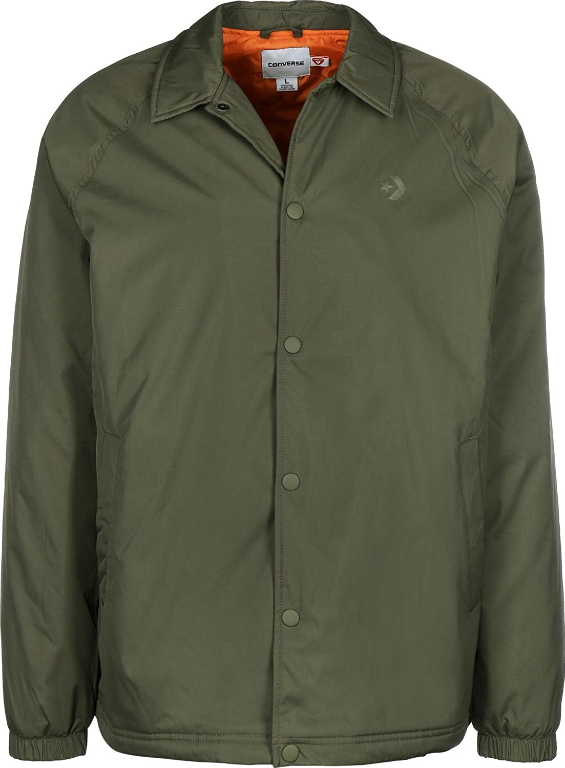 fe9b82ae8a6a Converse Men s Jacket Green Green - Green - X-Small  Amazon.co.uk  Clothing
