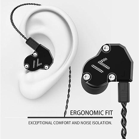 Revonext Qt2s In Ear Monitor Dreifach Treiber Kopfhörer Elektronik