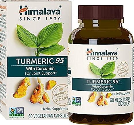 Cúrcuma ecológica y pura con curcumina al 95% - Para el alivio del dolor en