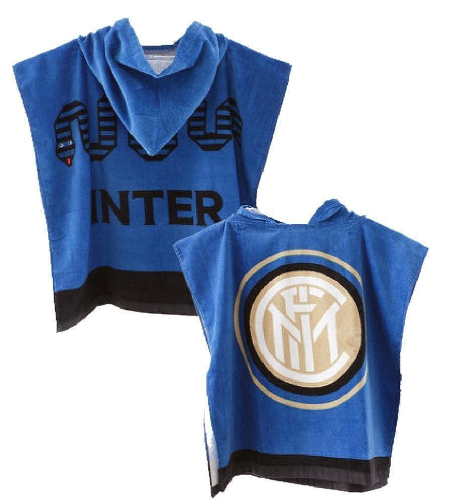 Arnetta Poncho Inter Bambino Ufficiale FC Internazionale Accappatoio Bambino PS 10488