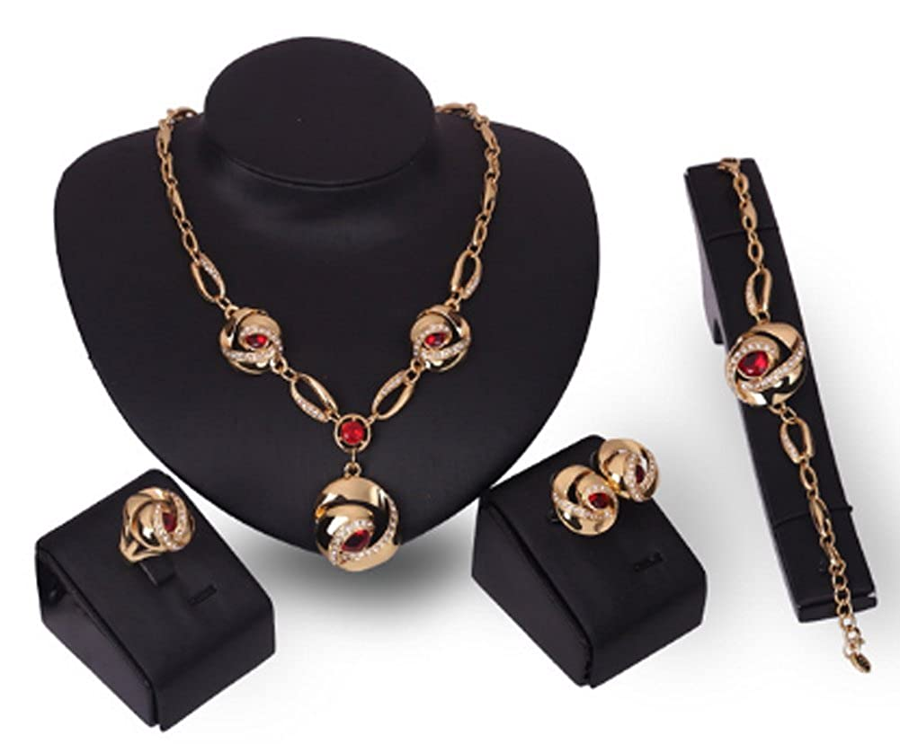 Richy-Glory Wedding Necklace Set Jewelry Sets For Women